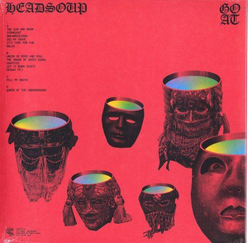 """Goat - Headsoup - Limited Edition, Blue Vinyl, LP, Bonus 7"""", Rocket Recordings, 2021"""