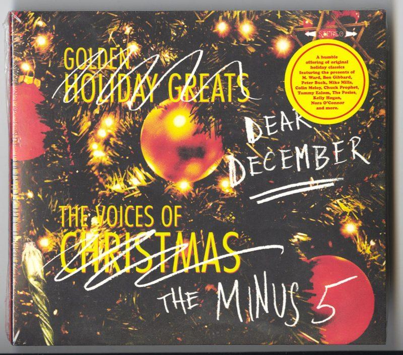 The Minus 5 - Dear December - Christmas CD, Yep Roc Records, 2017