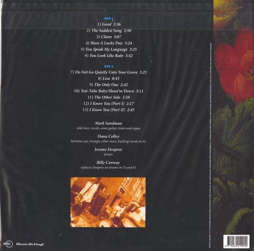 Morphine - Good - 180 Gram, Vinyl, LP, Reissue, Run Out Groove, 2021