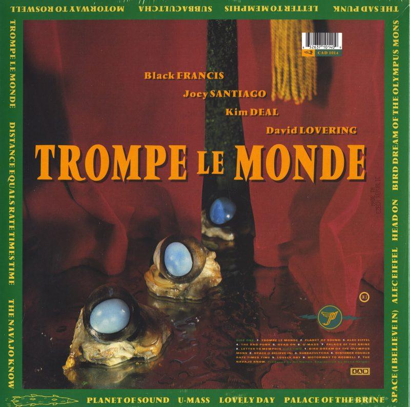 Pixies - Trompe Le Monde - 30th Anniversary, Green Marble, Vinyl, LP, 4AD, 2021