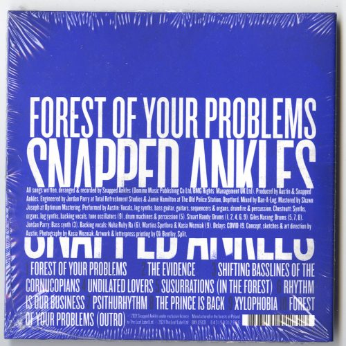 Snapped Ankles - Forest Of Your Problems - Digipak, CD, Leaf, 2021