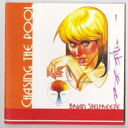 Brian Stelfreeze - Chasing The Pool - Full Color Sketchbook, Signed, Gaijin Studios, 2007