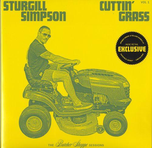Sturgill Simpson - Cuttin Grass Vol. 1 - Limited Edition, Green, Yellow Vinyl, High Top Mountain, 2020