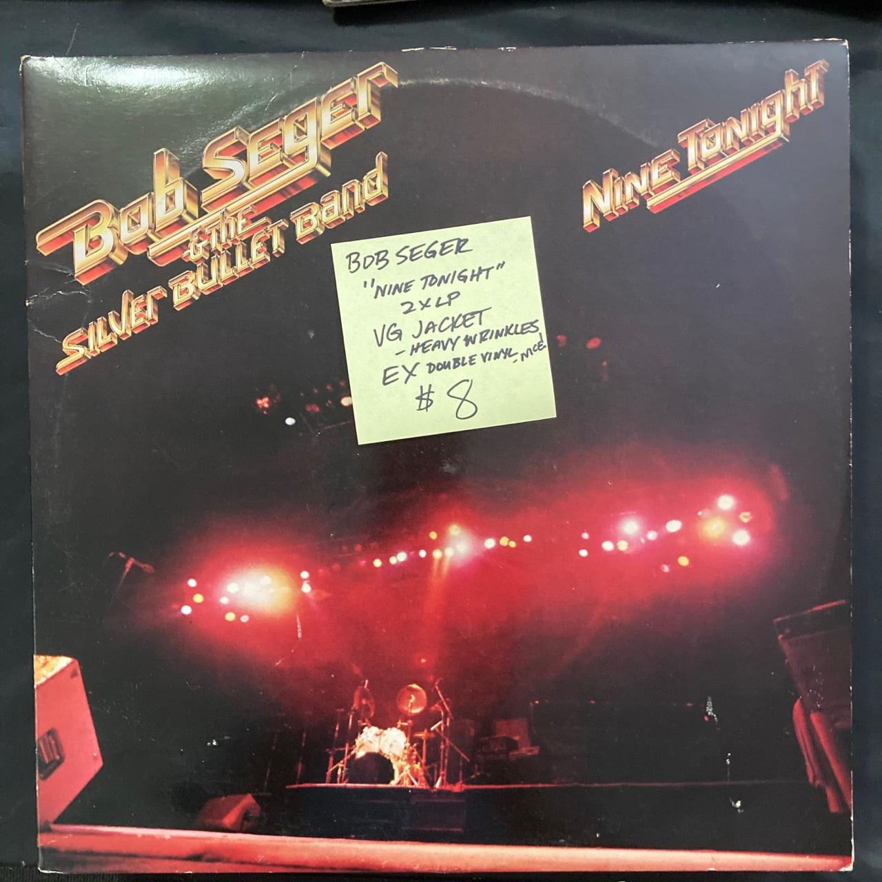 Bob Seger - Nine Tonight Vinyl