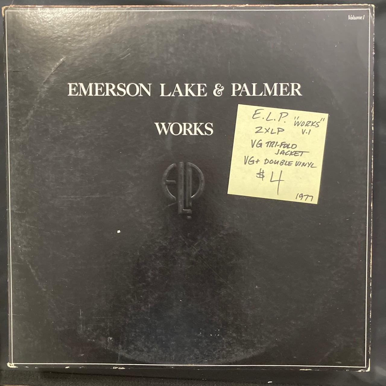 Emerson Lake and Palmer vinyl