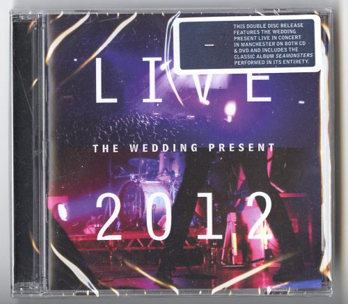 The Wedding Present - Live 2012 - Seamonsters Live In Manchester, CD + DVD, Scopitones, 2021